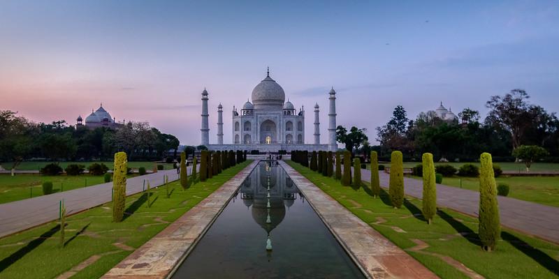 Taj in Blue