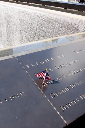 World Trade Center 9-11 Memorial