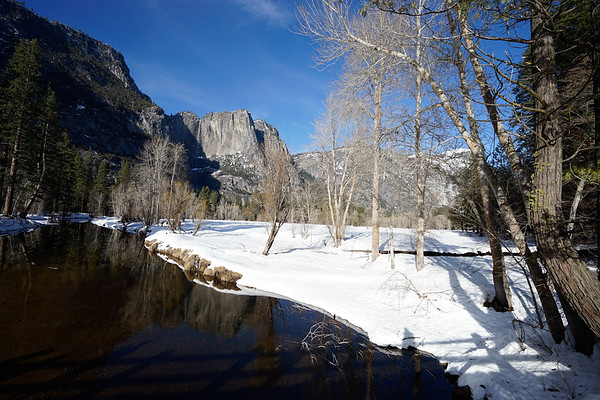 Yosemite in early February