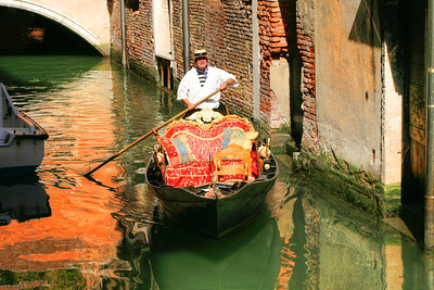 Classic depiction of Venice Italy. A truly colorful and romantic place!