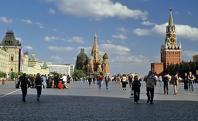 The Red Square,  Moscow, Russia