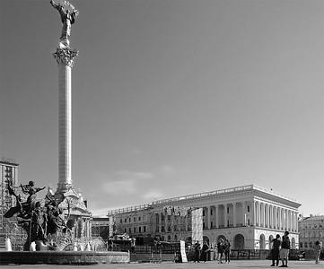 Majdan Nezaležnosti, Kyiv, Ukraine