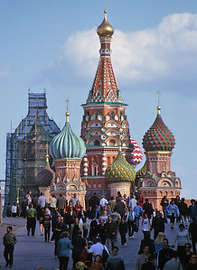 Moscow, Russia: Saint Basil's Cathedral
