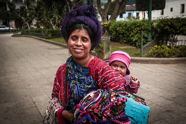 Guatemalan Mother and Child