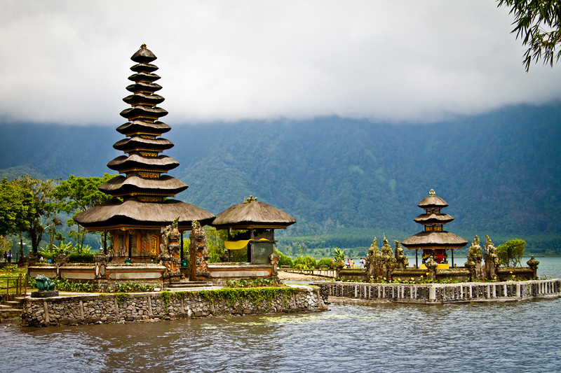{ Ulundanu Water Temple }