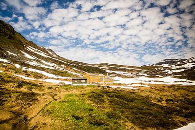 Snowy Norwegian Landscape