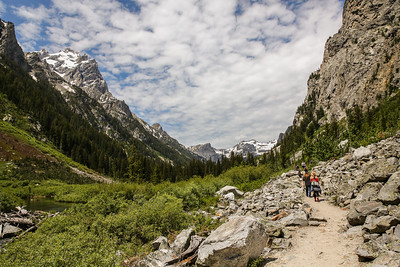 Trek to Cascade Canyon