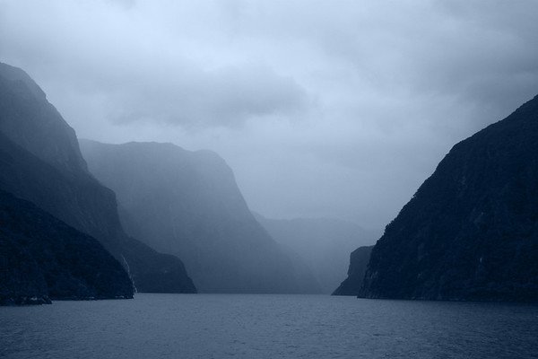 Misty Blue Fjords