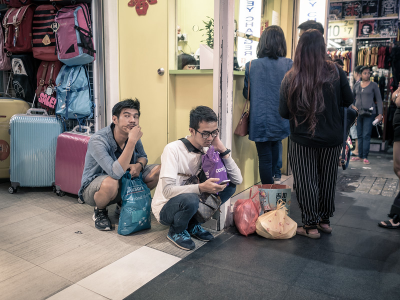 Bugis Market at Singapore