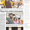 Titans host archery tournament