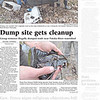 Dump site gets cleanup