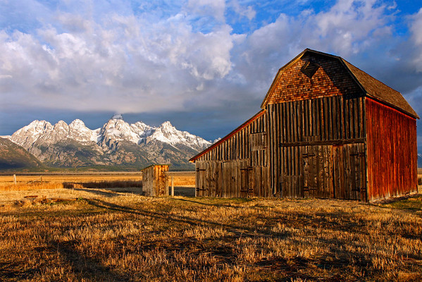 Thomas Murphy Barn - Mormon Row - GTNP