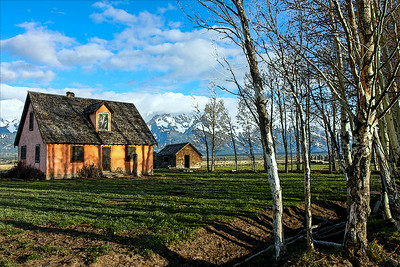 John Moulton Homestead - Mormon Row - GTNP