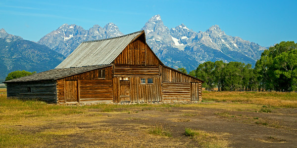 Thomas Moulton Barn - Mormon Row - GTNP 5 x 10, 10 x 20, etc.