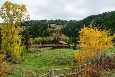 Gros Ventre River Ranch, Grand Teton National Park, Wyoming