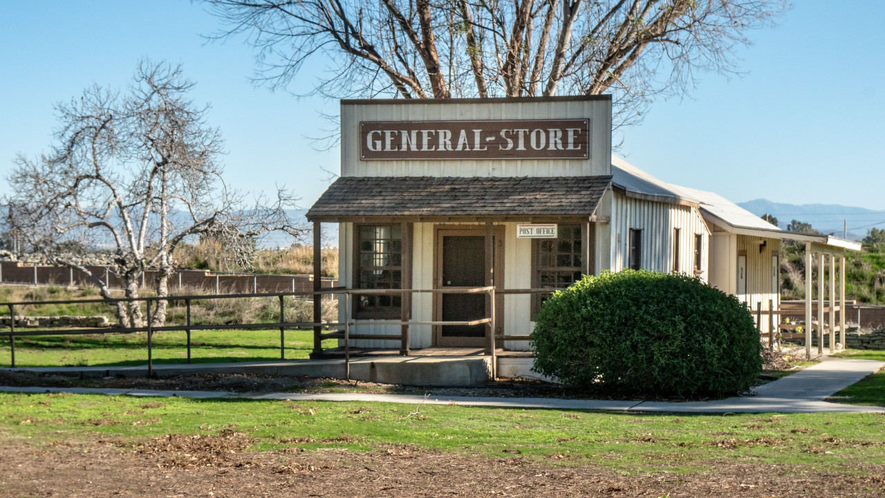 The General Store-Post Office at the Yorba-Slaughter Adobe