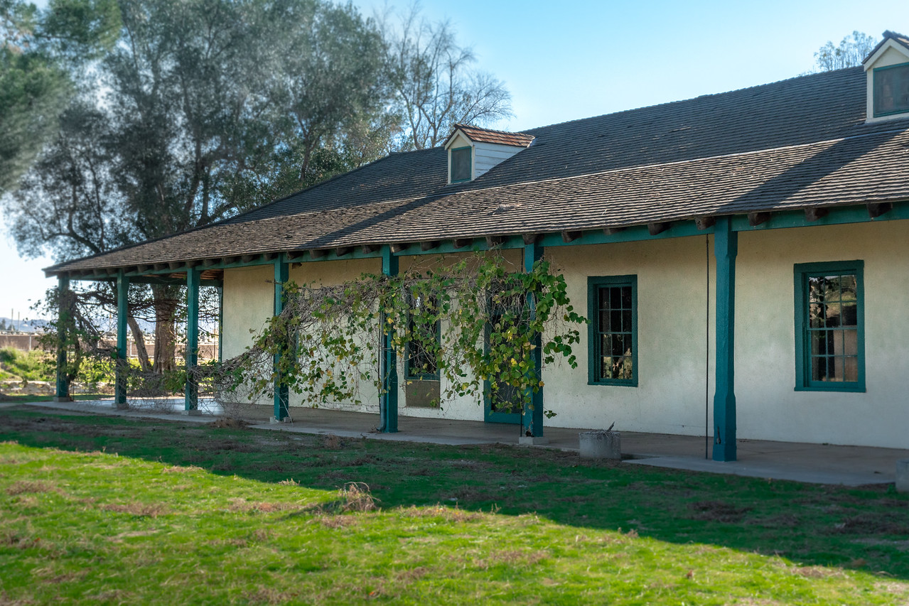 The Yorba-Slaughter Adobe in Chino, CA