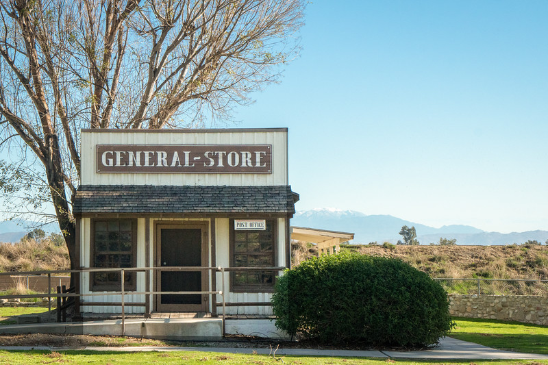 The General Store dates back to 1895,  It was a later addition to the site