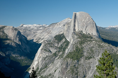 Half Dome and the Yosemite high country in the background