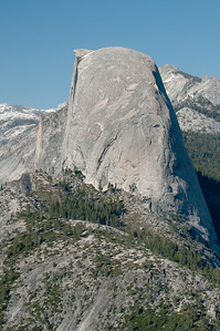Half Dome from the side