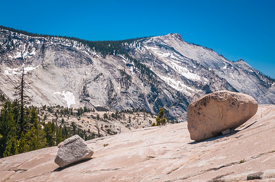Clouds Rest (9,926 ft high) from Olmsted Point on Tioga Pass