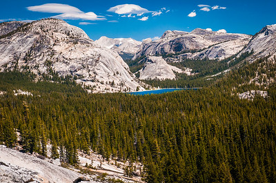 Tioga Pass looking east Toward Tenaya Lake