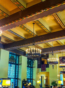 Inside the Ahwahnee Hotel