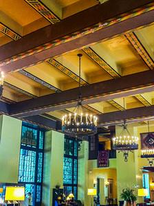 Inside the Ahwahnee Hotel