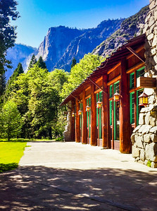 Ahwahnee Hotel Outside the Dining Area