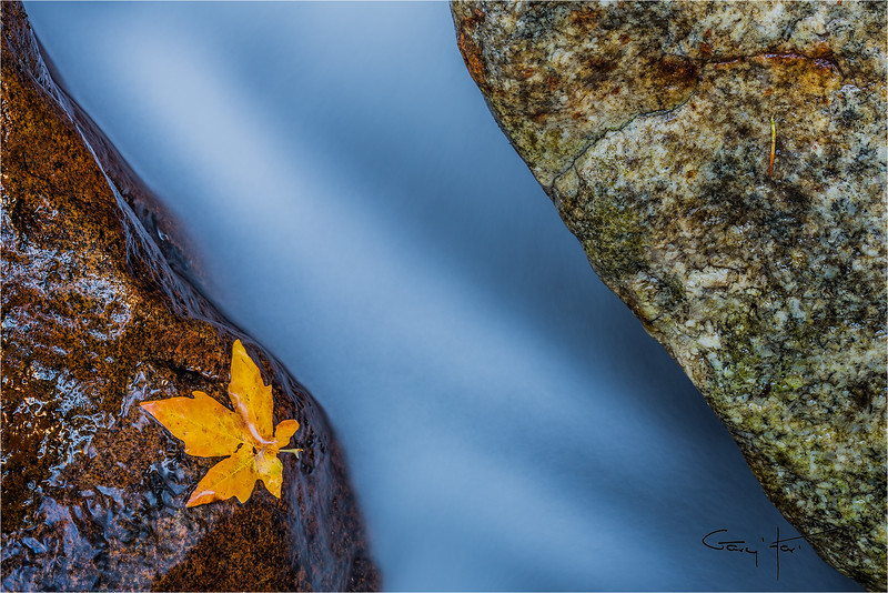 On the Rocks, Bridalveil Creek, Yosemite