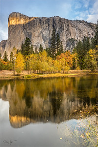 Morning Reflection, El Capitan, Yosemite
