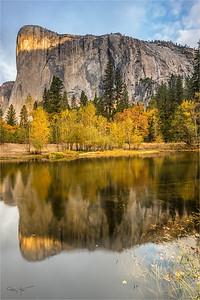 Morning Reflection, El Capitan, Yosemite