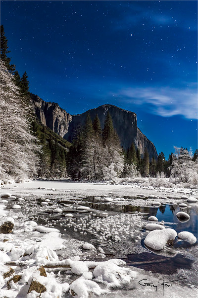 Moonlight Cathedral, El Capitan, Yosemite