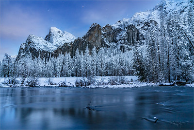 After Twilight, Valley View, Yosemite