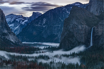 Dawn, Valley View, Yosemite