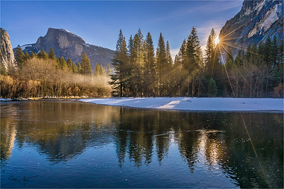 Morning Sun, Half Dome, Yosemite