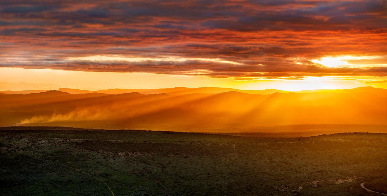 Chapada Sunset Explosion