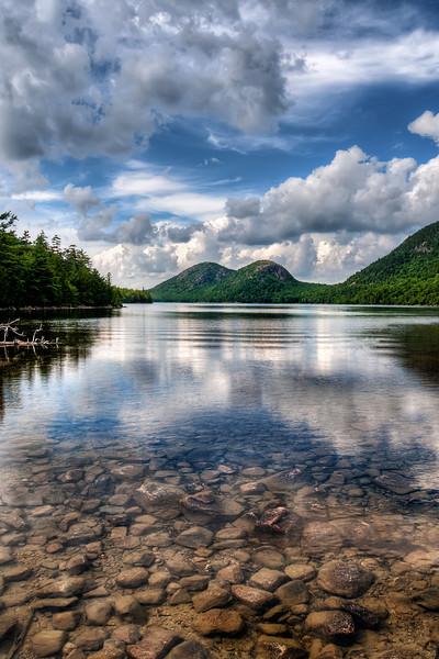Jordan Pond Reflections