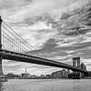Manhattan Bridge Clouds