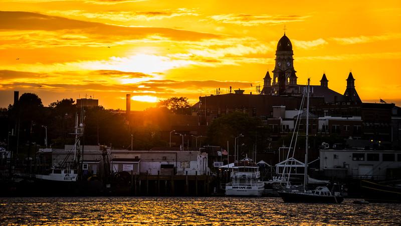 Sunset Across the Inner Harbor