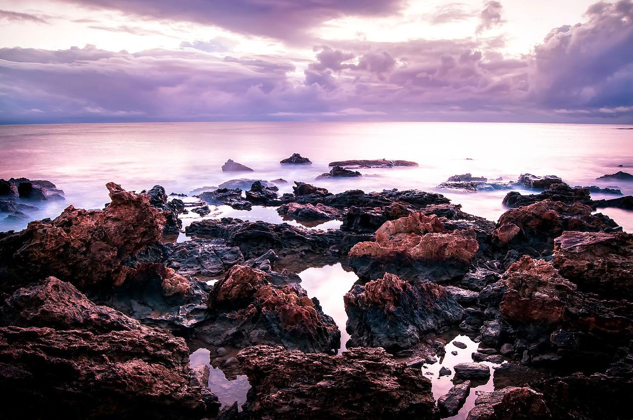 First Beach Rocks