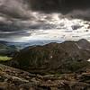 Mt Evan's Road Stormy Horizons