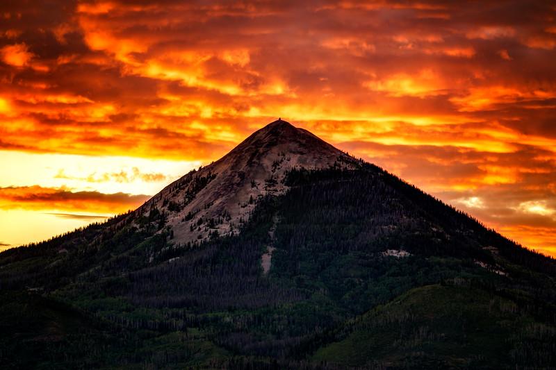 Hahn's Mountain Skyfire