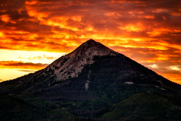 Hahn's Mountain Skyfire