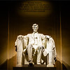 My favorite historical figure - it was cool to be here on this particular night because there was almost no one else around - this has got to be one of the best memorials on the planet - Lincoln's presence comes across and the magnitude of the impact he had as president is a tangible thing as you behold him in sitting there looking out at you