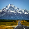 The Road to Mt. Cook