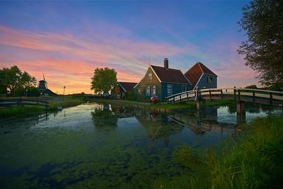 The famous Dutch farmer house