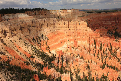Years of weathering process has formed this magical terrain that resembles an amphitheatre