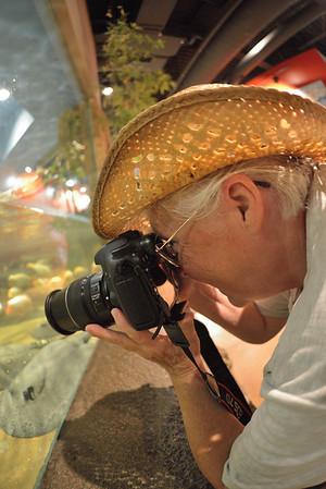 Sharon Thomas at the Akron Zoo