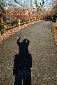 My Shadow at the Cleveland Metroparks Zoo